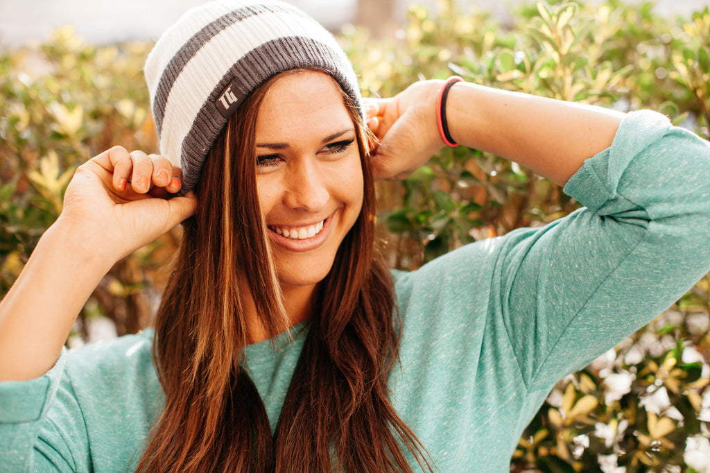 Smoky Horizon Bluetooth Beanie - Bluetooth Headphones - Bluetooth Hats