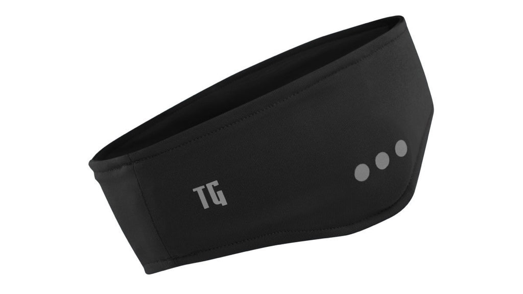 Black Wireless Bluetooth Headband