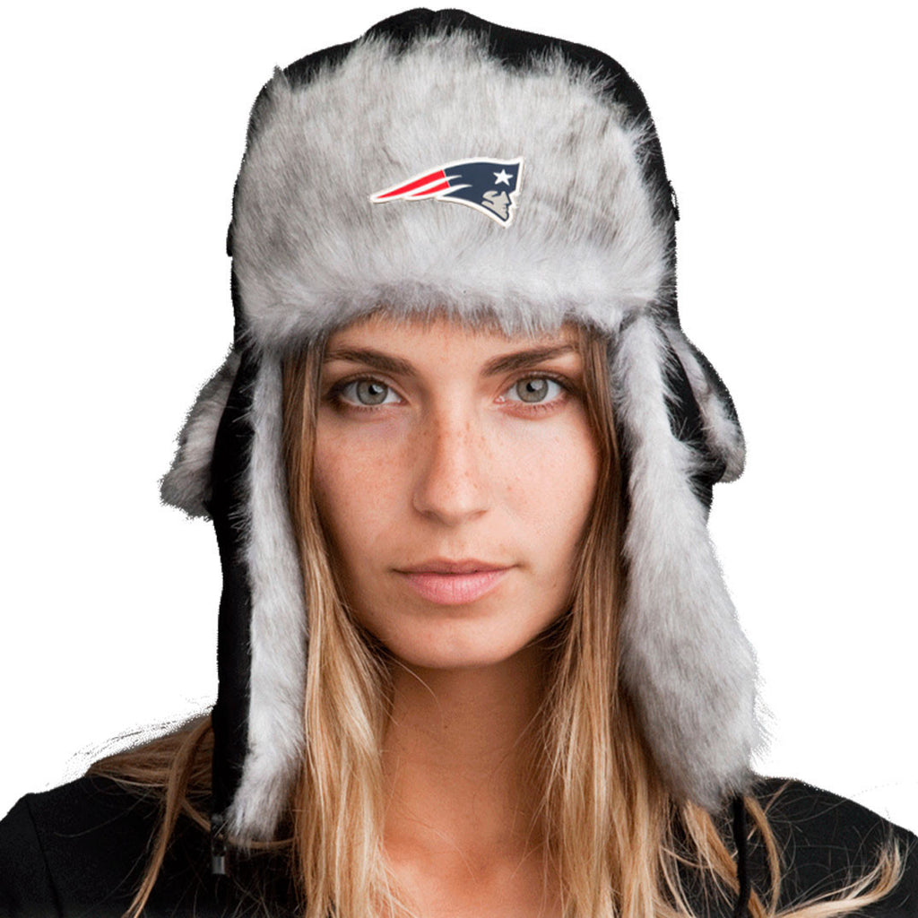 Trapper Hat + FREE New England Patriots Pin  ($8 value!)