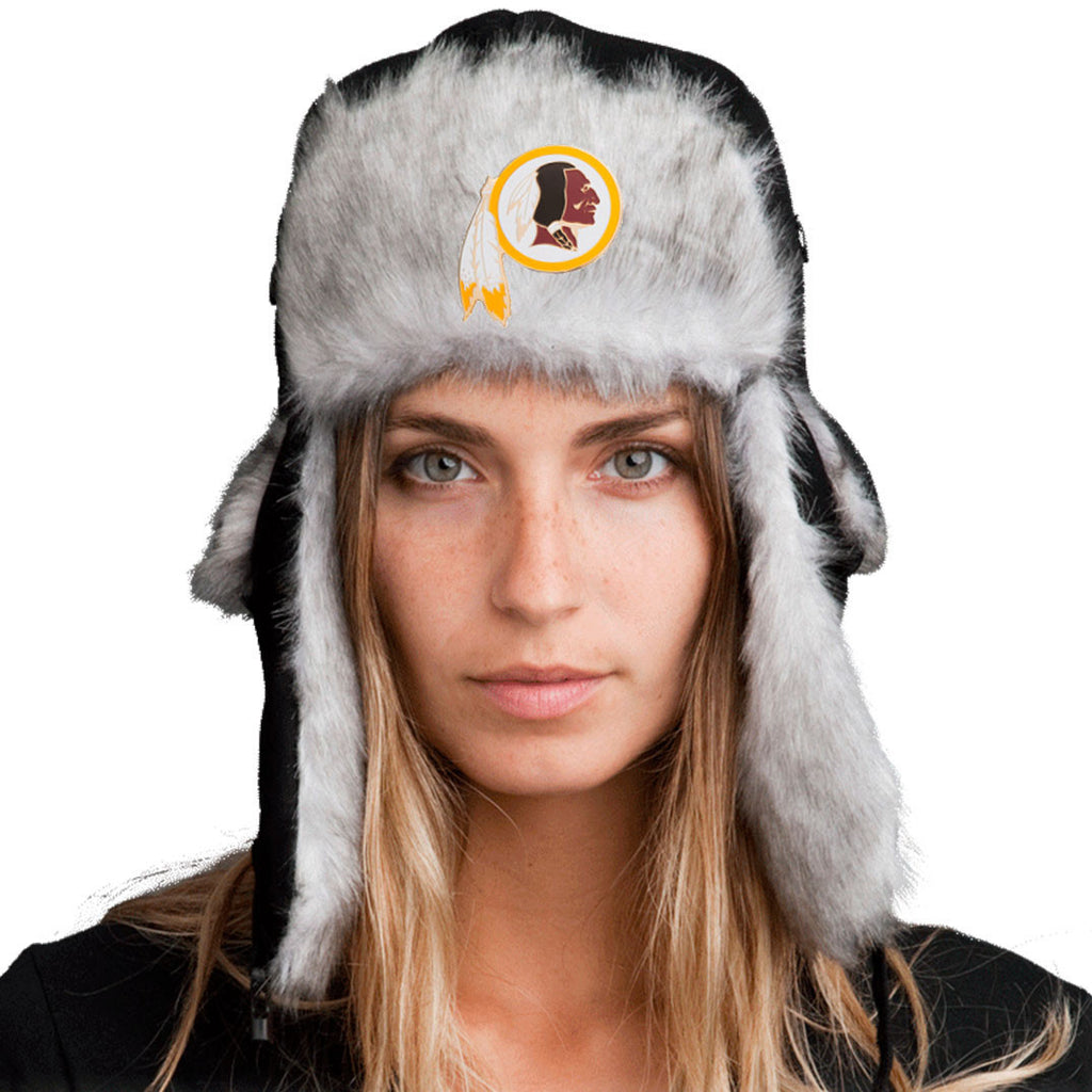 Trapper Hat + FREE Washington Redskins Pin  ($8 value!)