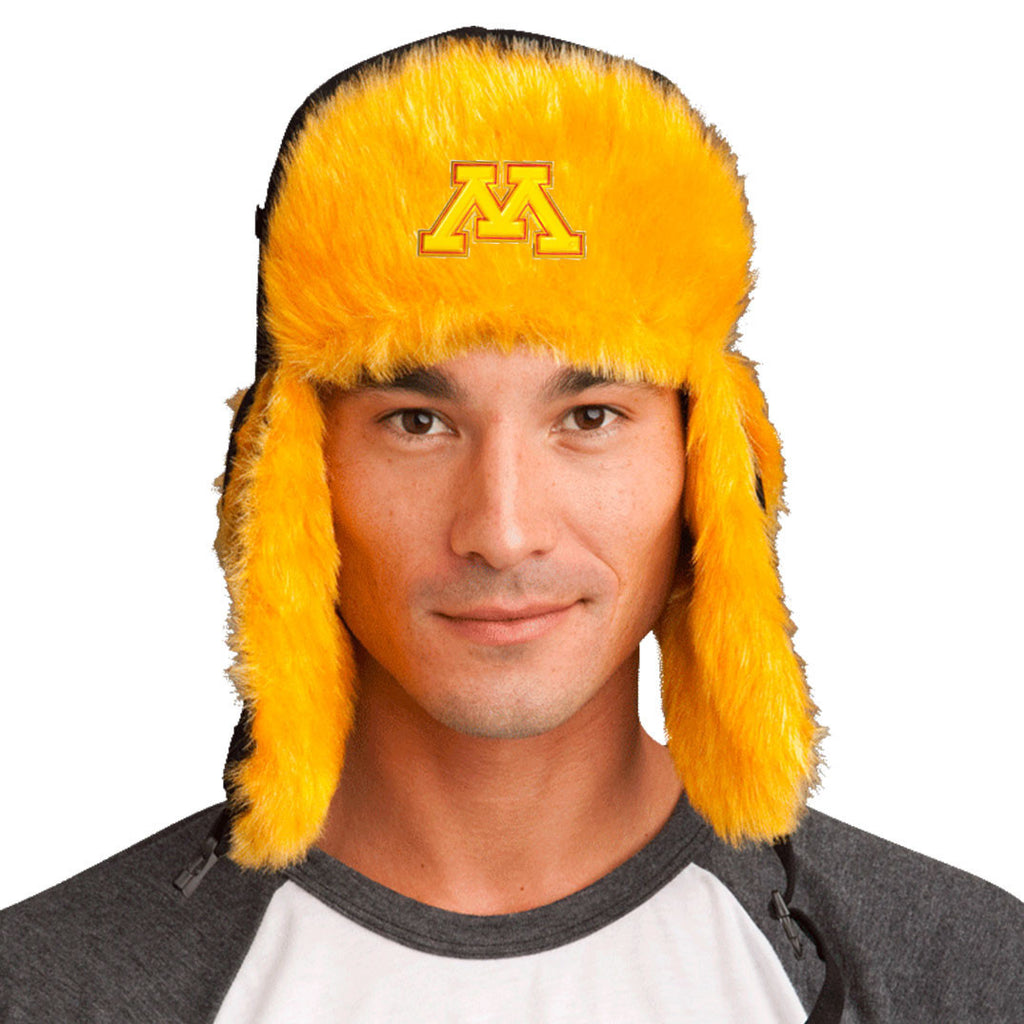 Trapper Hat + FREE Minnesota Golden Gophers Pin <br> ($8 value!)
