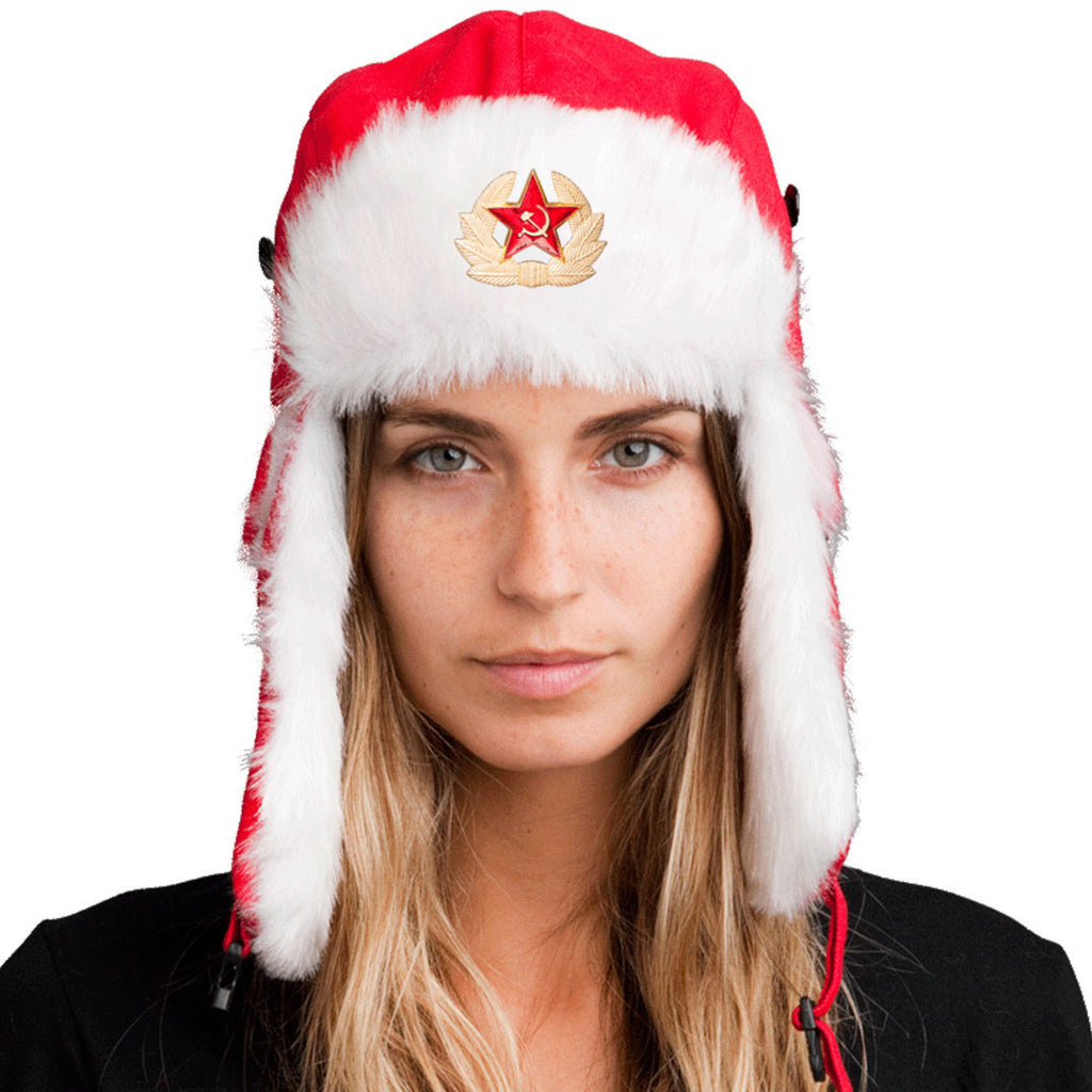 Trapper Hat + FREE Soviet Pin <br> ($8 value!)