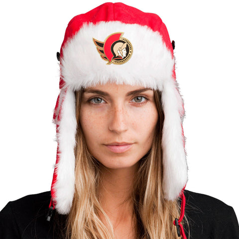 Trapper Hat + FREE Vancouver Canucks Pin <br> ($8 value!)