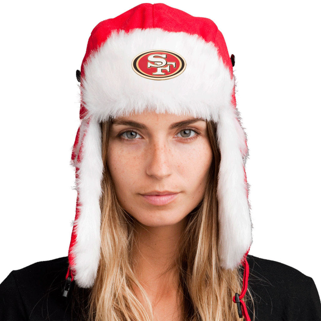 Trapper Hat + San Francisco 49ers Pin ($8 value)