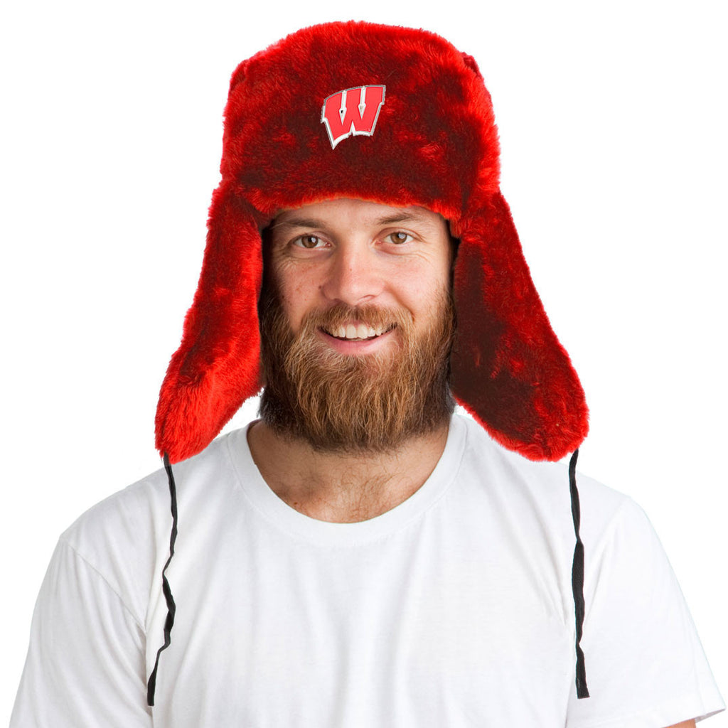 Tundra Hat™ + Wisconsin Badgers Pin ($8 value!)