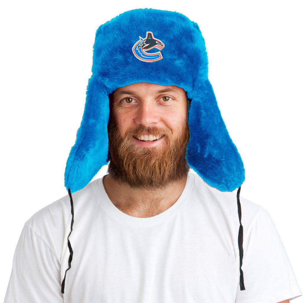 Tundra Hat™ + Vancouver Canucks Pin ($8 value!)