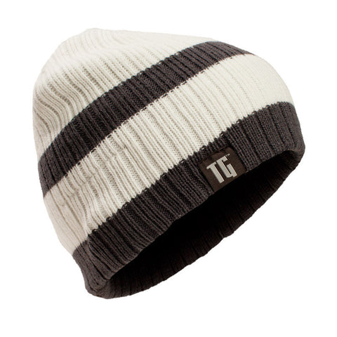 Artic White Bluetooth Beanie - Bluetooth Headphones - Bluetooth Hats