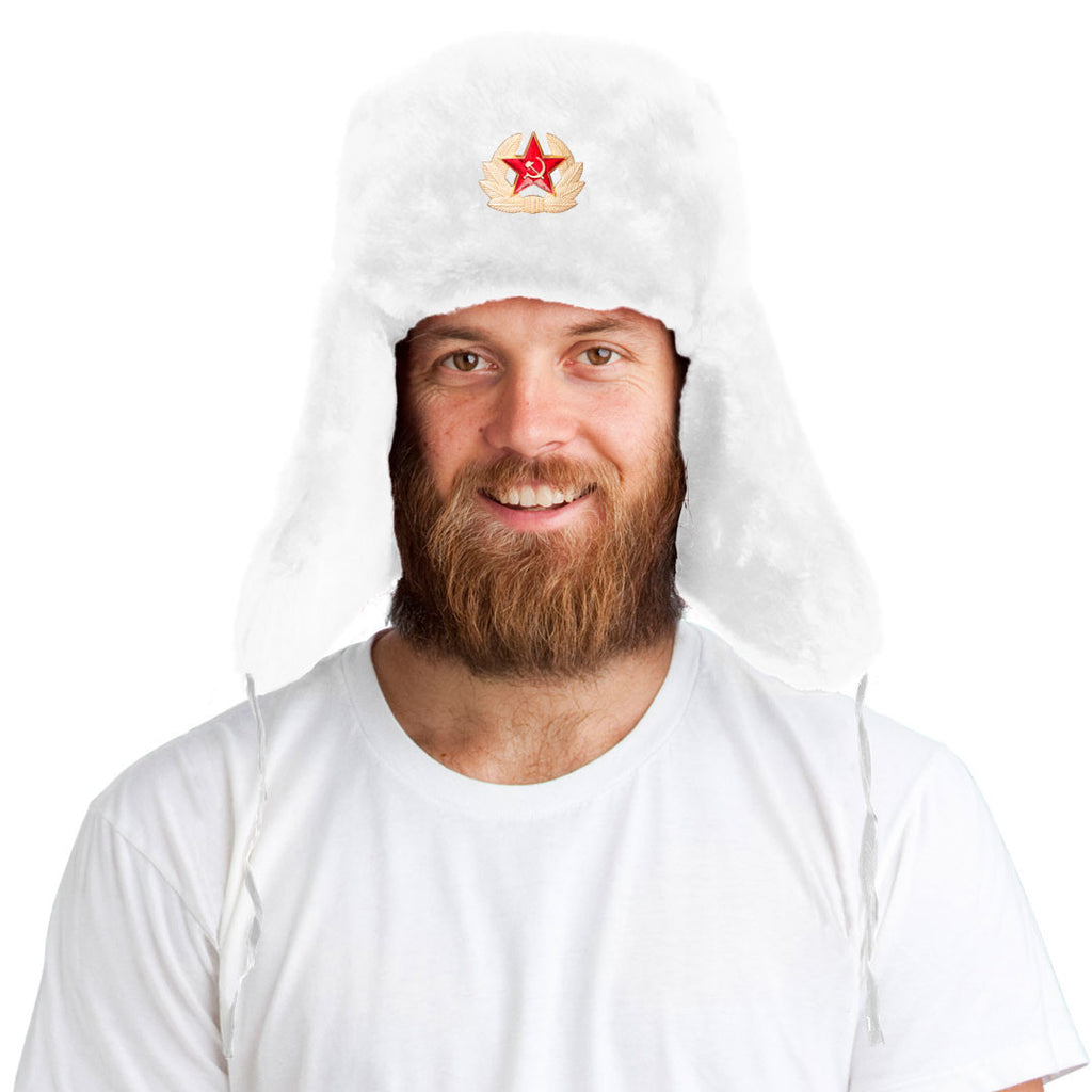 Tundra Hat™ + Soviet Pin ($8 value!)