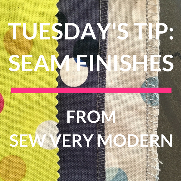 Tuesday's Tip - Seam Finishes