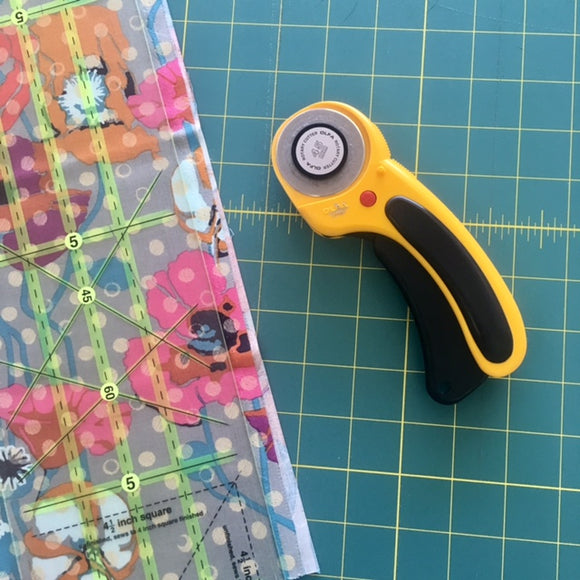 Tuesday's Tip - Rotary Cutter Basics