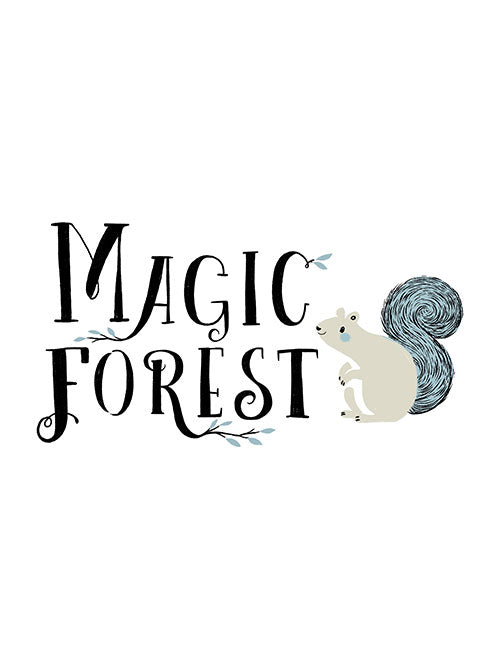 Fabric Friday - Magic Forest by Sarah Watts