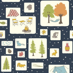 Camp Out Main Camp Sur 3 by Jay-Cyn Designs for Birch Fabrics Fabric Friday on Sew Very Modern by Owl & Durm