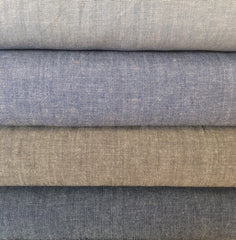 cotton chambray fabric at Owl & Drum
