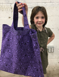 Kids' Summer Sewing: Tote Bag! Zoom Class - Wednesday 7/29, 1:00-3:30pm - Owl & Drum