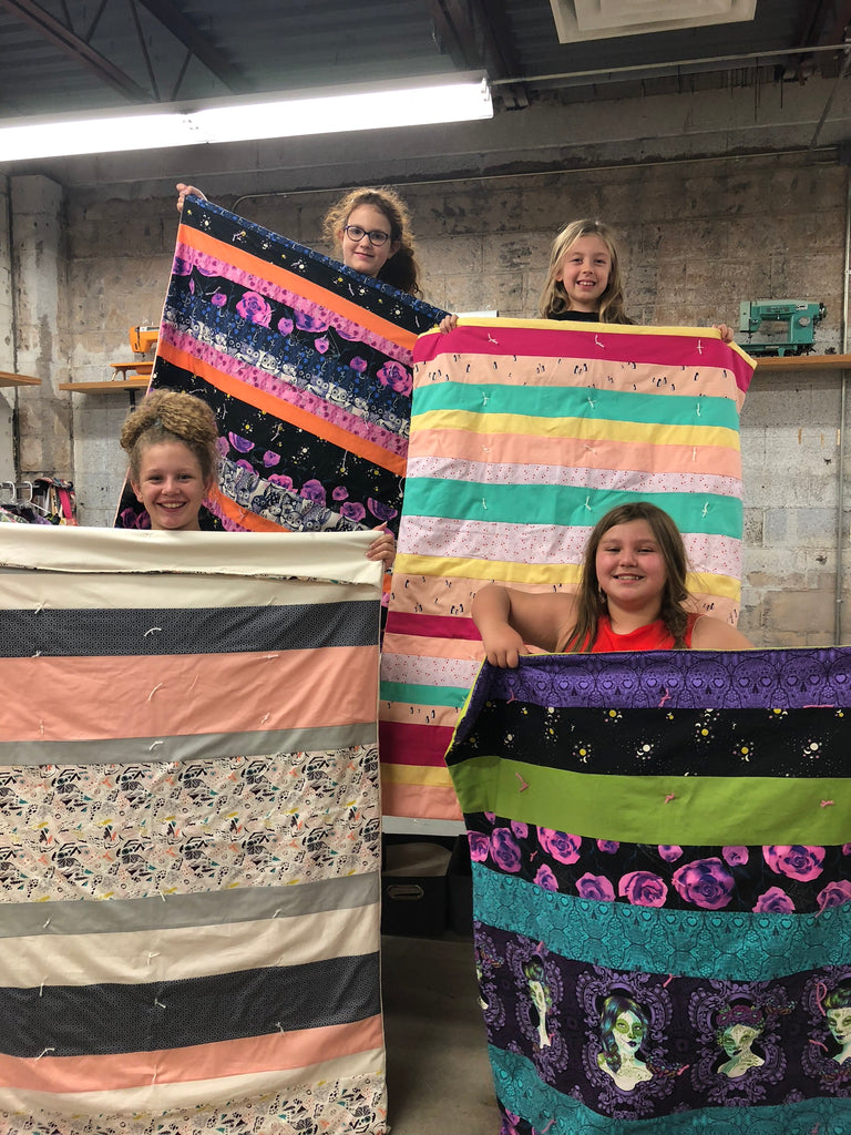 Make a Quilt Camp! - August 13,14,15, 2-5pm - Owl & Drum