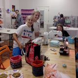 Kids Advanced Beginning Sewing Camp - Thurs 6/8 & Fri 6/9, 12:30-5pm - Owl & Drum