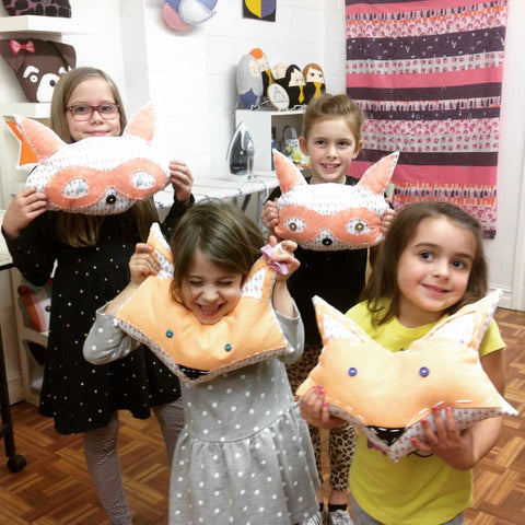 Animal Stuffies Sewing Camp  Tues 8/8 & Wed 8/9, 2:00-5:30