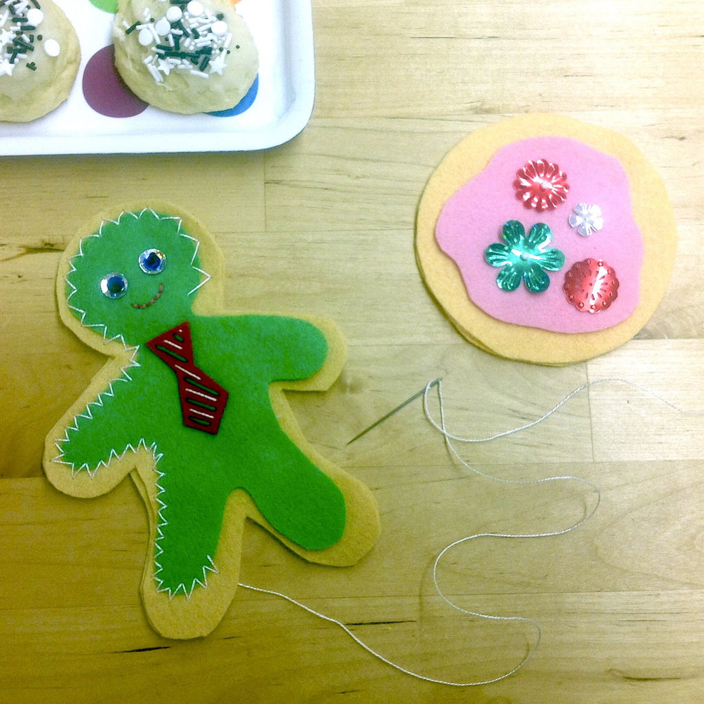 Kids Sewing - Holiday Fun with Felt! Wednesday 12/21 12:30-2:30 - Owl & Drum
