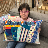 New Sewing/Quiting Camp: Huge Floor Pillow! Tues 7/17- Thurs 7/19 2-5pm - Owl & Drum