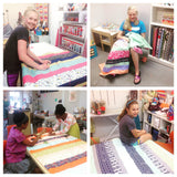 Striped Quilt Sewing Camp - Tuesday 7/11- Friday 7/14, 2:30-5:00pm - Owl & Drum