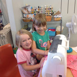 Kids Beginning Sewing - Fabric Basket - Wednesday 12/28 10:00-Noon - Owl & Drum