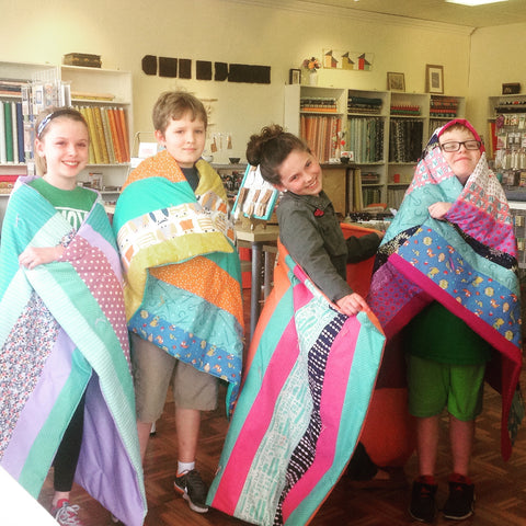 Striped Quilt Sewing Camp - Tuesday 7/11- Friday 7/14, 2:30-5:00pm