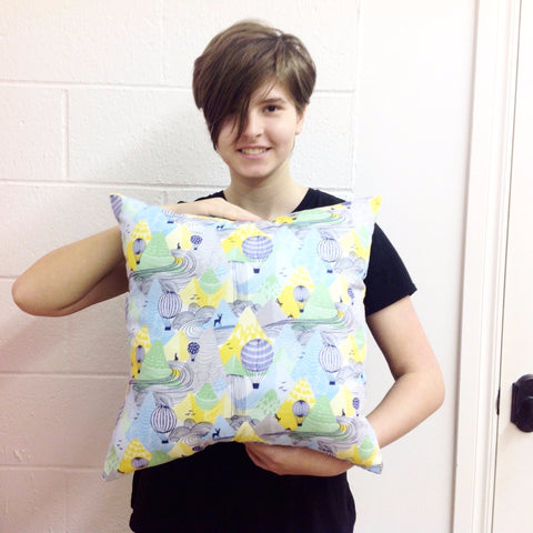 After School Sewing for Kids: Throw Pillow - Friday 2/2, 3:30- 5:30pm