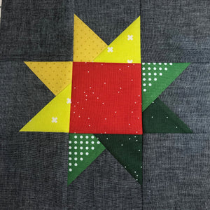 Festive Star Patchwork Workshop - Thursdays 12/3, 10 & 17, 6-9pm