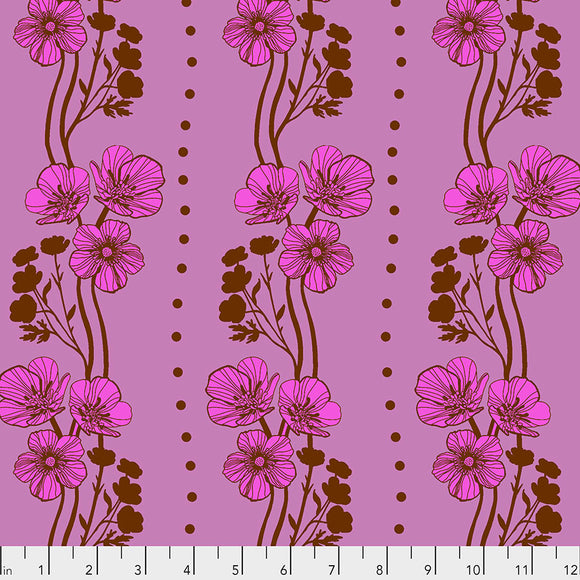 New Buttercups in Plum by Anna Maria Horner