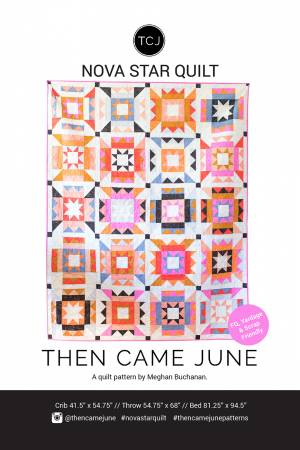 Nova Star Pattern by Then Came June - Owl & Drum