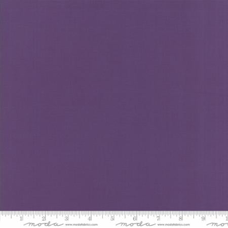Concord Purple Bella Solids by Moda Fabrics - Owl & Drum