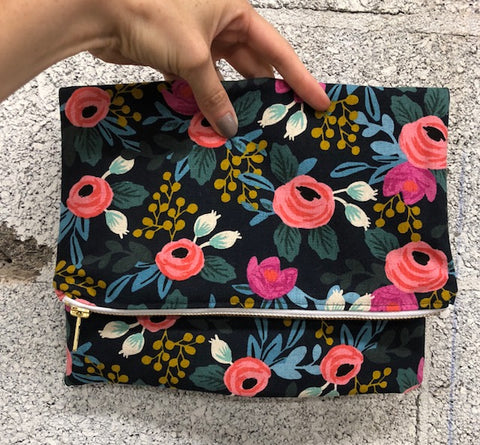 Easy Sewing: Fold-Over Clutch - Thursday 8/30, 6-9pm