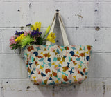 The Trader Tote by Mary Make & Do Printed Sewing Pattern - Owl & Drum