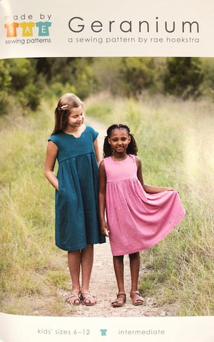 Made by Rae's Geranium Dress Size 6-12