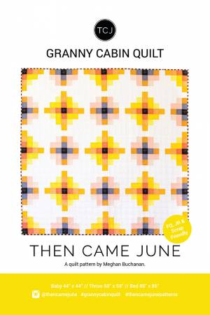 Granny Cabin Quilt Pattern by Then Came June - Owl & Drum