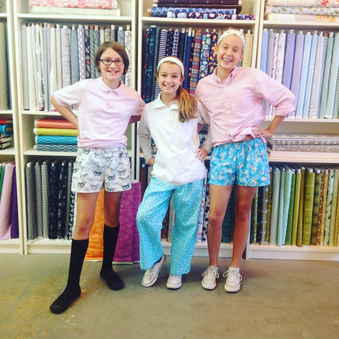 Sleepover Set Sewing Camp! Tues 7/24- Thurs 7/26, 10am-1pm