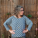 Sewing With Knits: Knit Top- Featuring Fancy Tiger Craft's Free Download Pattern! Saturday 6/3, 3-6pm - Owl & Drum