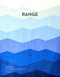 The Range Quilt Pattern by Modern Handcraft - Owl & Drum