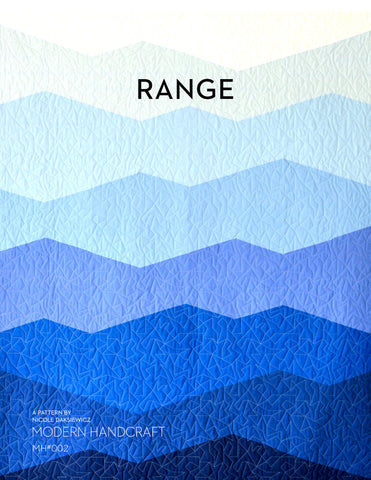 The Range Quilt Pattern by Modern Handcraft