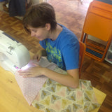 Kid's Sewing: Throw Pillow - Thursday 1/3, 10:30am-12:30pm - Owl & Drum