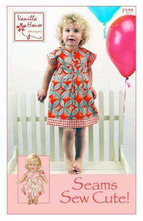 Seams Sew Cute - Girls Pattern by Vanilla House - Owl & Drum