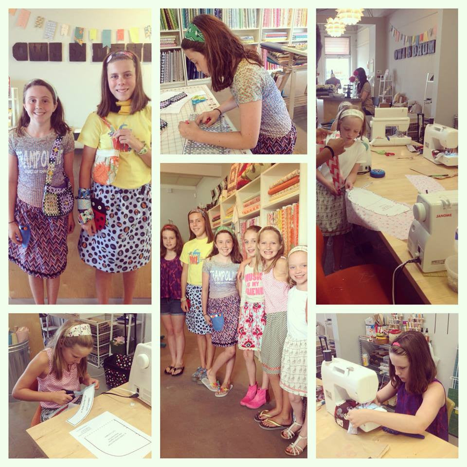 Spring Break Fashion Sewing Camp Tuesday 3/14, 10:30am- 5:30pm - Owl & Drum