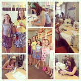 Fashion Sewing Camp! Tues 7/10-Thur 7/12, 2-5pm - Owl & Drum