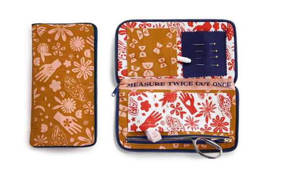 Ruby Star Society Sewing Wallet - Earth - Owl & Drum