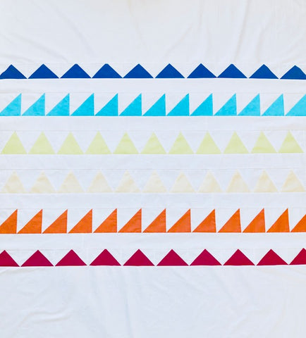 Quilting 2.0 Triangle Sampler! 1 Friday & 3 Thursdays, 6-9pm