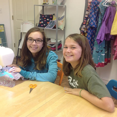 Kids Advanced Beginning Sewing Camp - Thurs 6/8 & Fri 6/9, 12:30-5pm