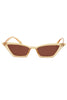 Supernova Cat Eye Shades - Champagne
