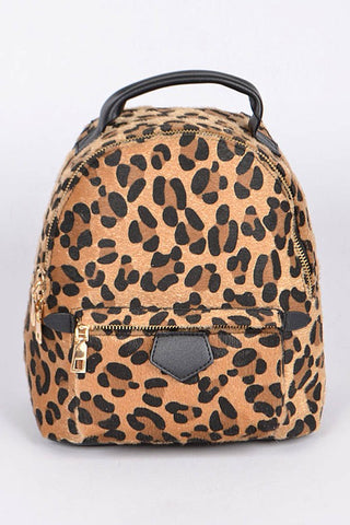Take Me Out Mini Backpack - Tan