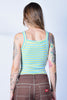ECH Vintage Terry Cloth Tank - Aqua