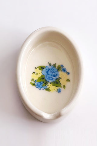 Blue Rose Ashtray by Ritual & Rose